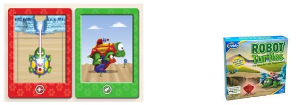 Robot Turtles español paso 1: quitar carta de láser y carta de función rana