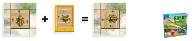 Qué cartas necesitas para girar a la izquierda en el juego Robot Turtles