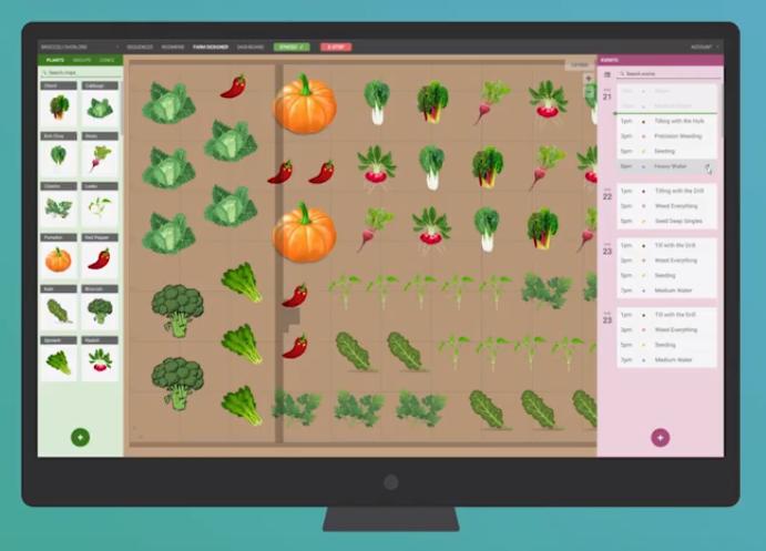 Aplicación para manejar el Farm Bot kit versión PC