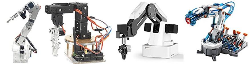 Conjunto de brazos robóticos