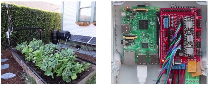 FarmBot, el huerto robótico con sus placas Arduino Mega y Raspberry Pi