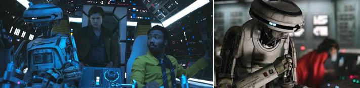 L3-37 la droide del Spin off Han Solo