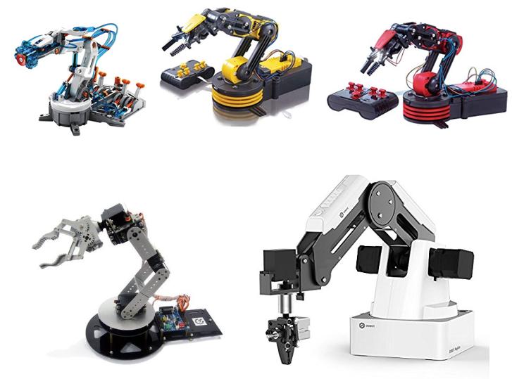 Comparativa de 5 brazos robóticos como guía de compra