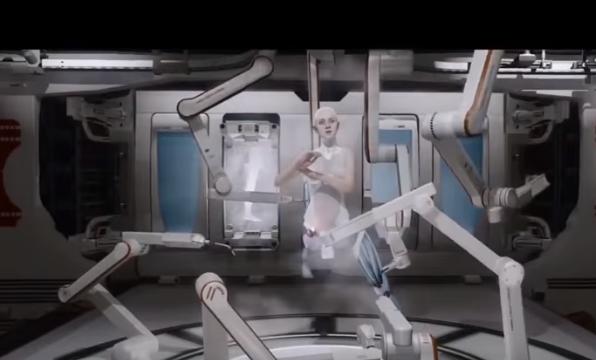 Creación de Kara personaje de Detroit become human, juego de robots para PS