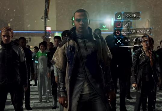 Markus líder de la revolución robótica de Detroit become human