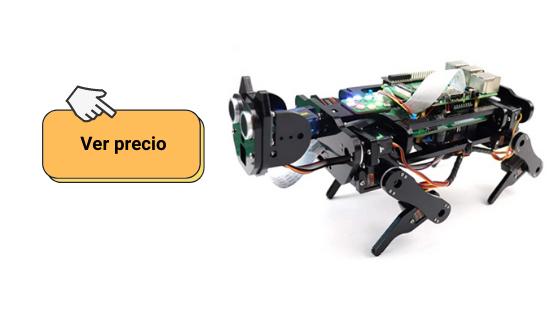 Ver información del kit de montaje del robot dog para Raspberry de Freenove si estás pensando en comprar robots para niños