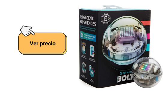 link para comprobar el precio del robot Sphero bolt si quieres comprar robots para niños
