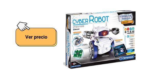 comprobar precio del robot cyber de clementoni