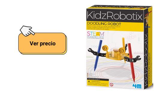 ver ofertas de robots baratos en concreto el doodling robot