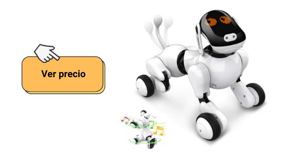Ver opciones de Puppy Go perro robot para niños que es un perro robot inteligente