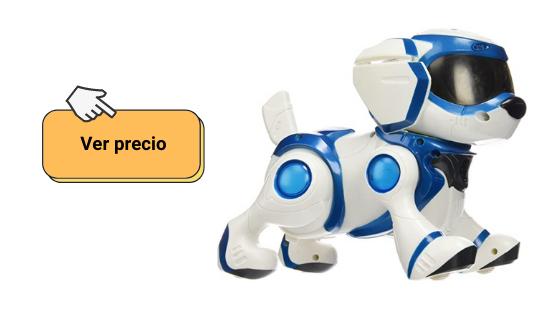 Explorar teksta perro robot para niños y es un perro robot interactivo