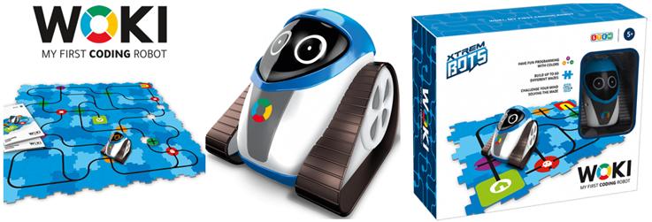 Woli de Xtreme Robots presentación del Robot