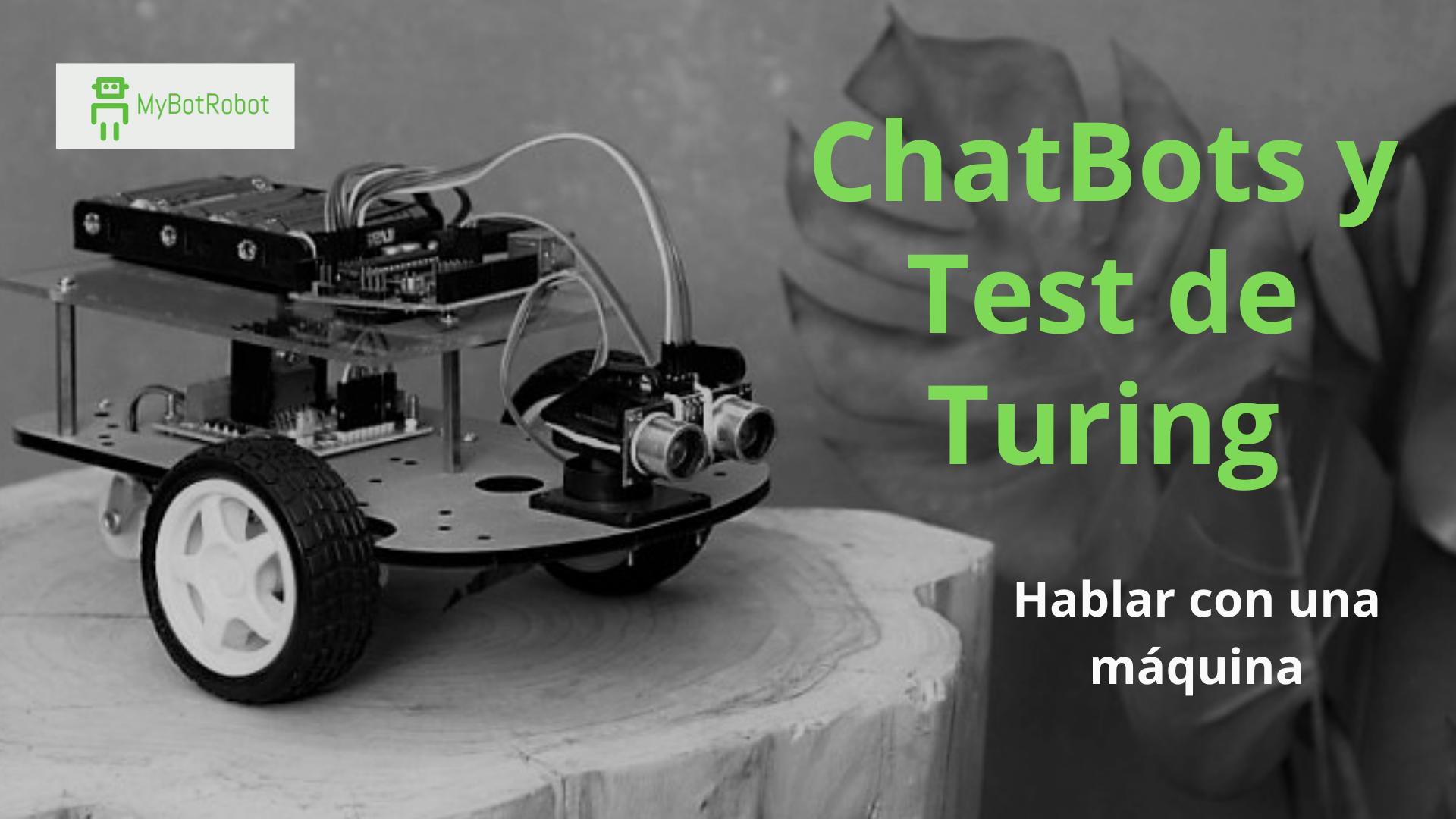 Imagen del post de la web MyBotRobot sobre bot conversacional y test de turing